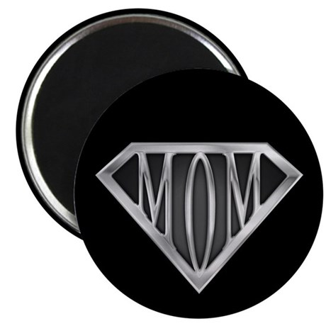 "Supermom(metal) 2.25"" Magnet (10 pack)"