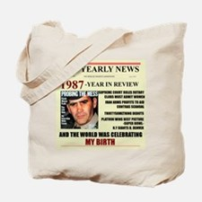 born in 1987 birthday gift Tote Bag