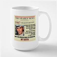 born in 1987 birthday gift Mug