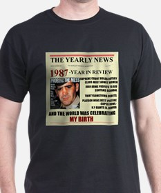 born in 1987 birthday gift T-Shirt