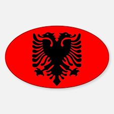 Albanian Oval Decal