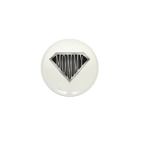 Super Mommy(metal) Mini Button (100 pack)