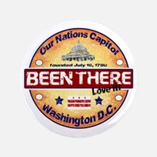 """Been There Store 3.5"""" Button"""