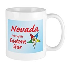 Nevada Eastern Star Mug