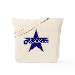 Retro Rockstar Tote Bag