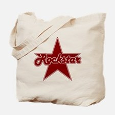 Retro Rockstar Tote Bag