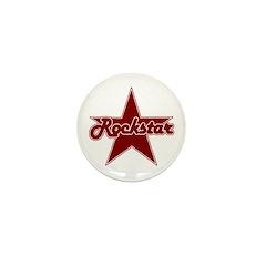 Retro Rockstar Mini Button (10 pack)