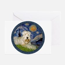 Starry / Wheaten (#1W) Greeting Cards (Pk of 10)
