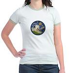 Starry / Wheaten (#1W) Jr. Ringer T-Shirt