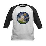 Starry / Wheaten (#1W) Kids Baseball Jersey