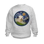 Starry / Wheaten (#1W) Kids Sweatshirt