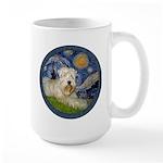 Starry / Wheaten (#1W) Large Mug