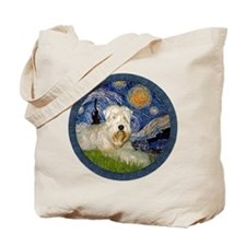 Starry / Wheaten (#1W) Tote Bag