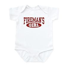 Fireman's Girl Infant Bodysuit