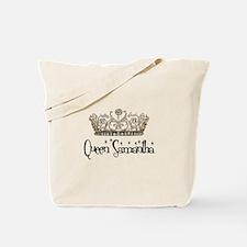 Queen Samantha Tote Bag