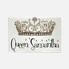 Queen Samantha Rectangle Magnet