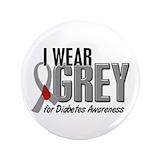 "Diabetes awareness 3.5"" Round"