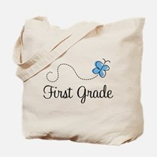 Pretty First Grade Tote Bag