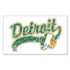 Detroit Irish Rectangle Decal
