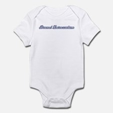 Brunei Darussalam (blue) Infant Bodysuit
