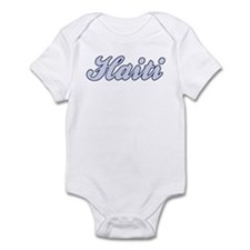 Haiti (blue) Infant Bodysuit