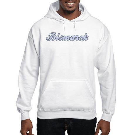 Bismarck (blue) Hooded Sweatshirt
