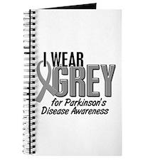 I Wear Grey 10 (Parkinson's) Journal