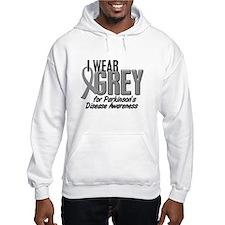 I Wear Grey 10 (Parkinson's) Hoodie