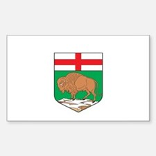 MANITOBA PROVINCE Rectangle Decal