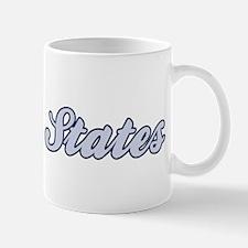 Baltic States (blue) Mug