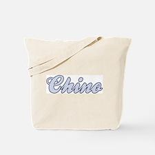 Chino (blue) Tote Bag