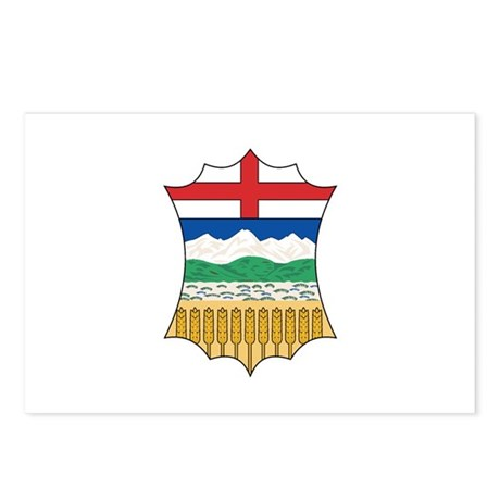 ALBERTA PROVINCE Postcards (Package of 8)