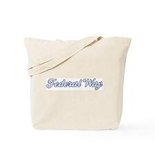 Federal Way (blue) Tote Bag