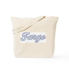 Fargo (blue) Tote Bag