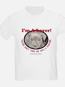 Pit Bull Puppy Anti Dog Fight T-Shirt
