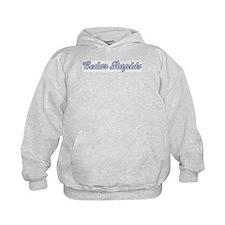 Cedar Rapids (blue) Hoodie