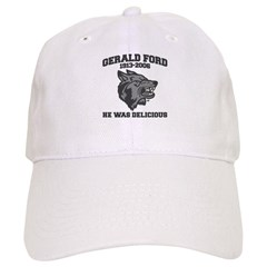 gerald ford eaten by wolves Baseball Cap