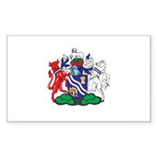 OXFORDSHIRE Rectangle Decal