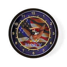 U.S. NAVY Wall Clock