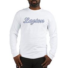 Layton (blue) Long Sleeve T-Shirt