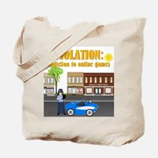 Addiction to Online Games Tote Bag