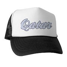 Qatar (blue) Trucker Hat
