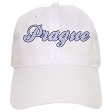 Prague (blue) Baseball Cap