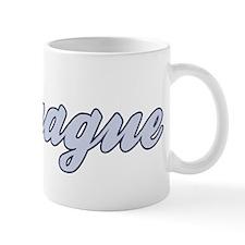 Prague (blue) Mug