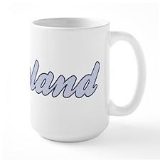 Ireland (blue) Mug