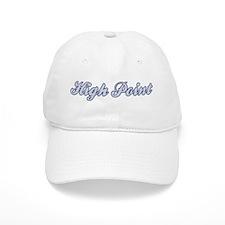 High Point (blue) Baseball Cap