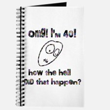 OMG! I'm Forty Journal