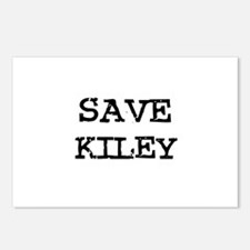 Save Kiley Postcards (Package of 8)