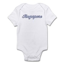 Singapore (blue) Infant Bodysuit