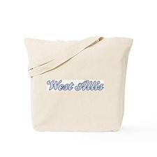 West Allis (blue) Tote Bag